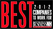 Best 2012 Companies to work for