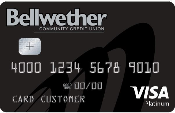 Bellwether credit card