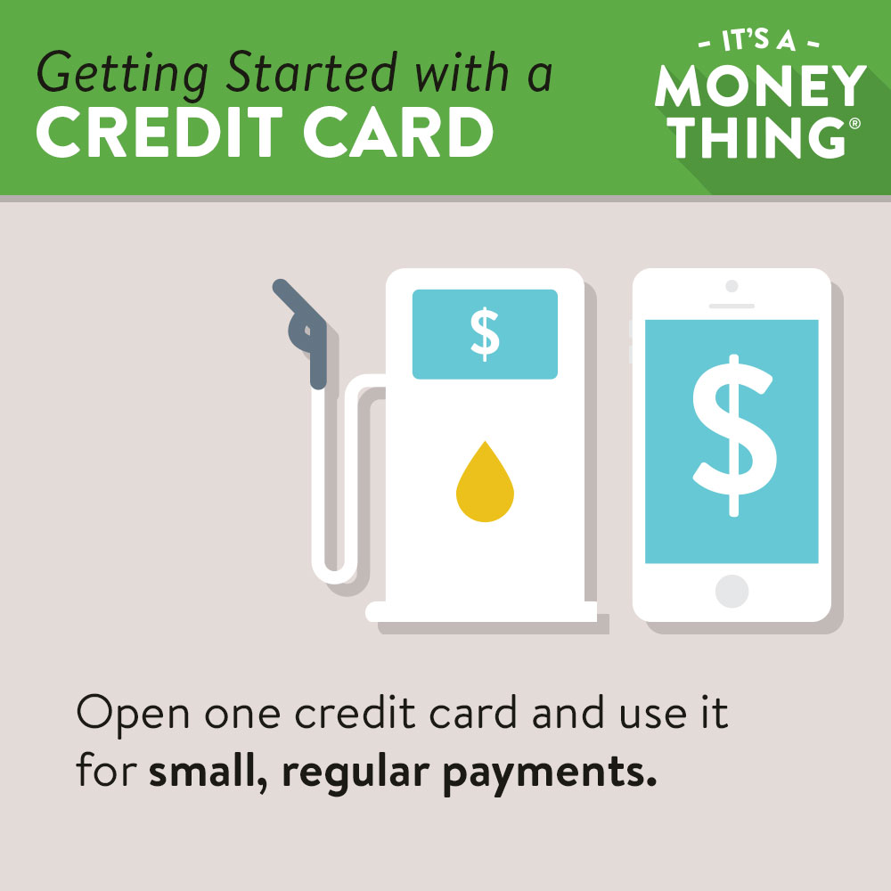 getting started with a credit card