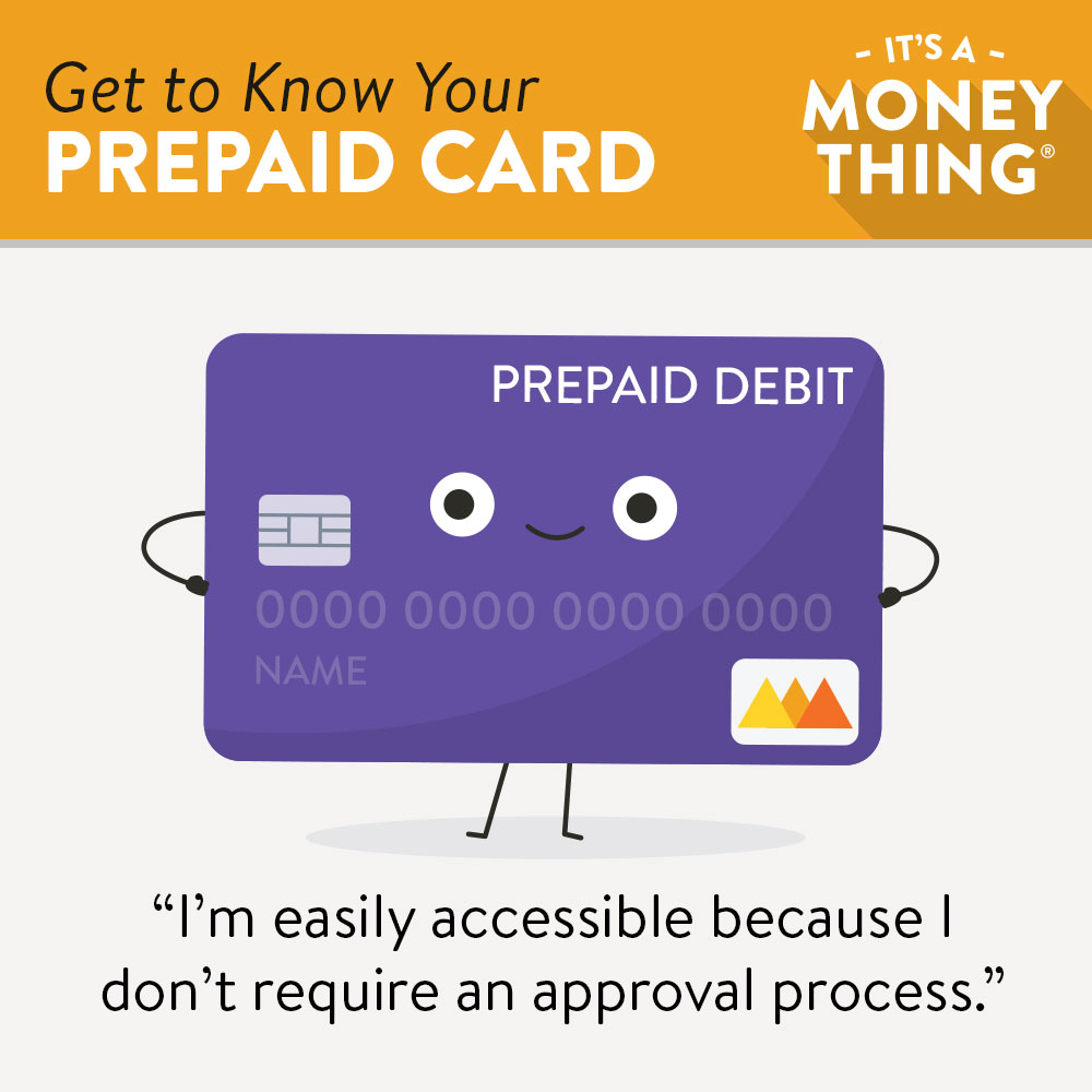 Get to know your prepaid card