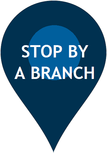 Stop by a Branch icon