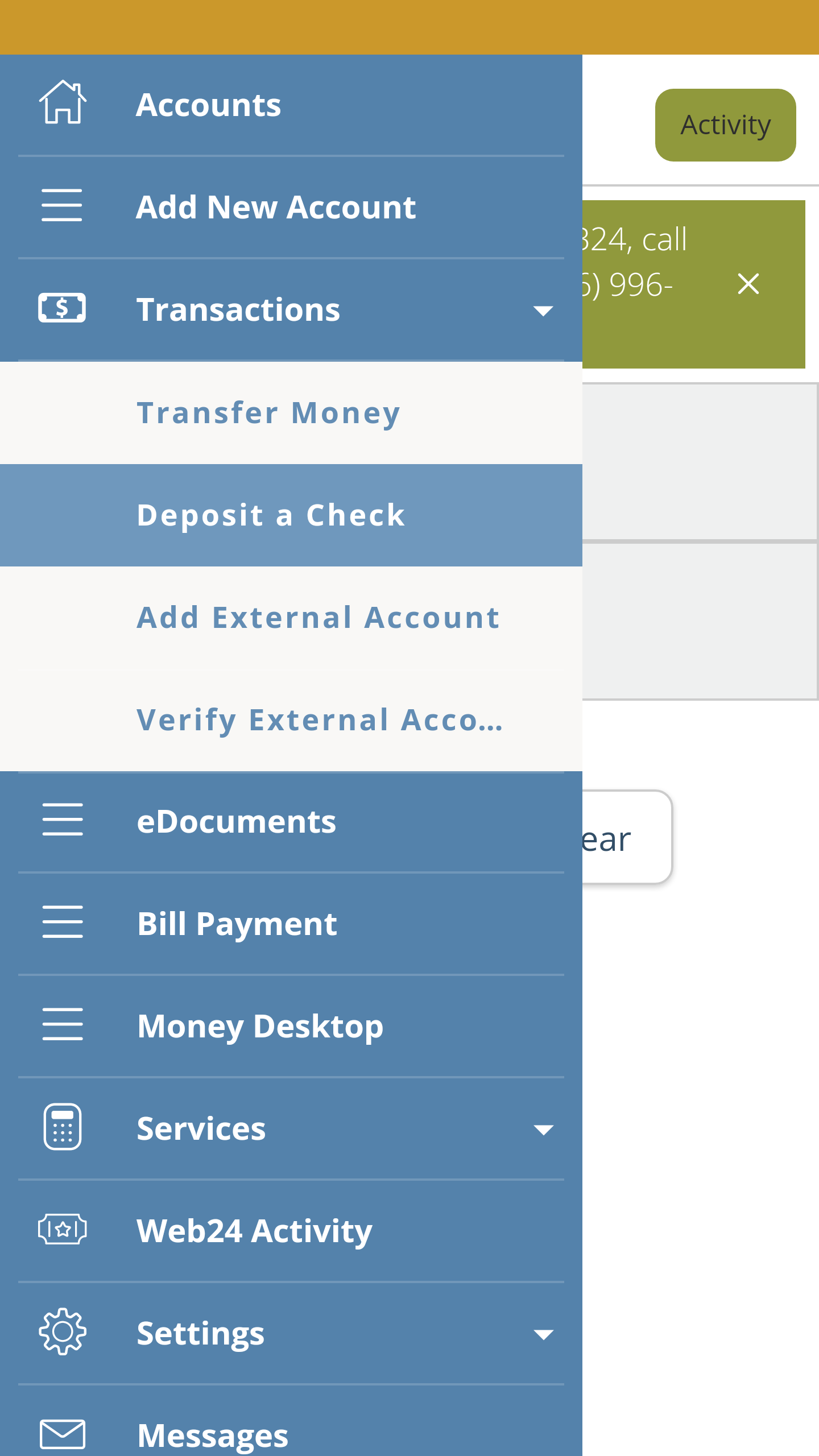 MobileCheckDeposit24 - Bellwether Community Credit Union