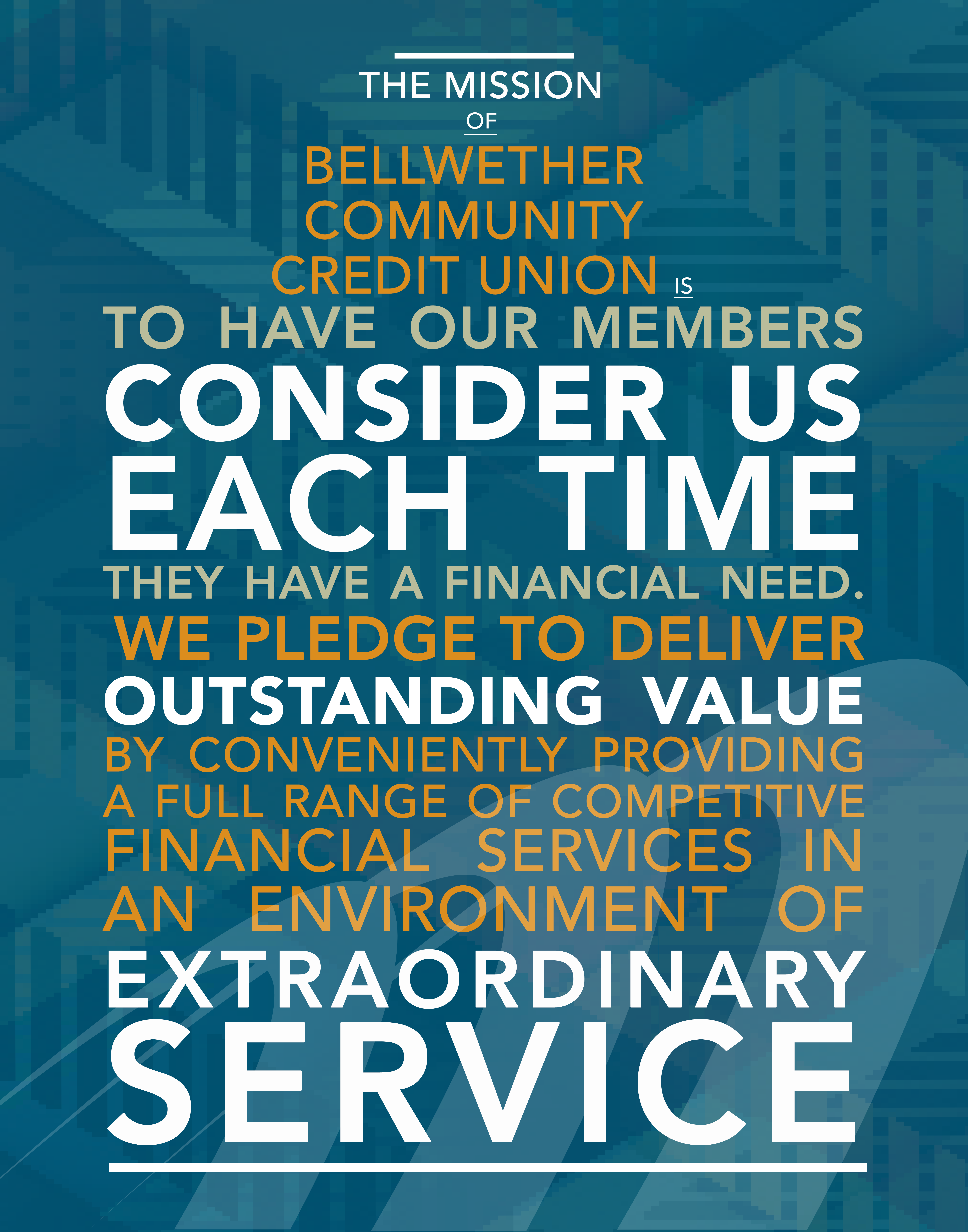 Bellwether's Mission