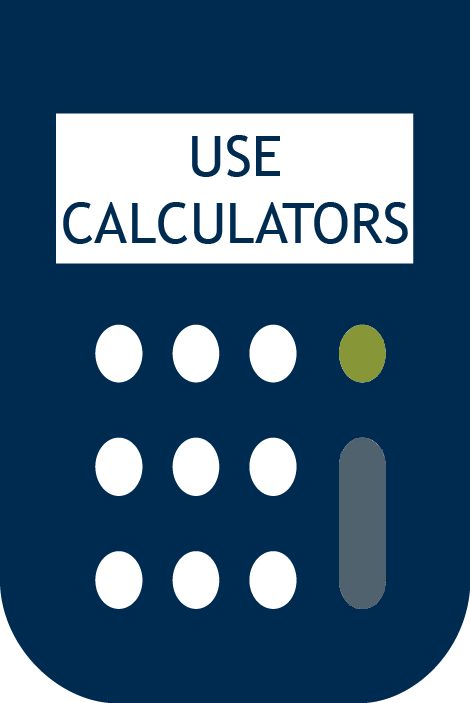 savings calculators, financial calculator, savings, money market accounts