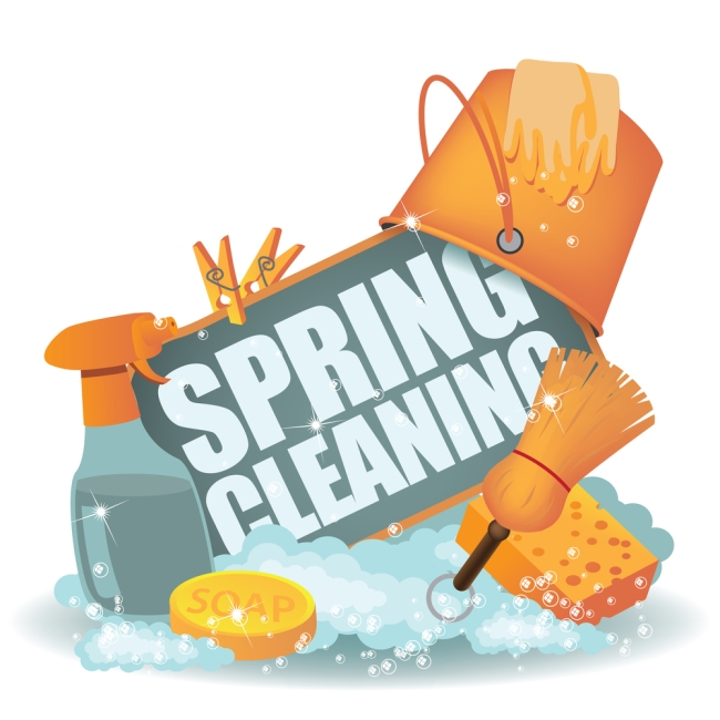 spring cleaning tips - bellwether community credit union