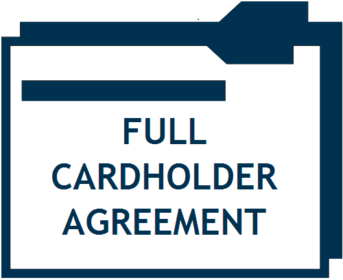 Full Cardholder Agreement