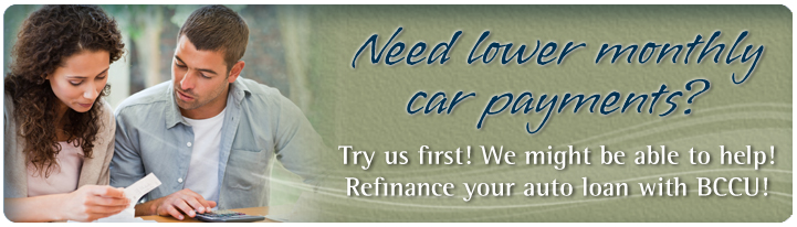 Refinance your auto loan with Bellwether!